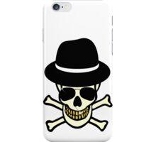 Halloween Skull Hipster iPhone Case/Skin