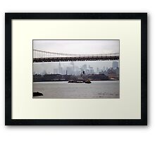Approaching Hell Gate Framed Print