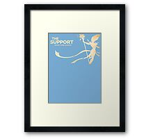 Janna - The Support Framed Print