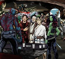 Guardians In A Galaxy Far, Far Away  by BockingfordKid