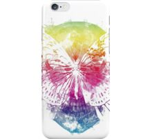 butterflyed skull iPhone Case/Skin