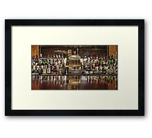 Saloon Register  Framed Print