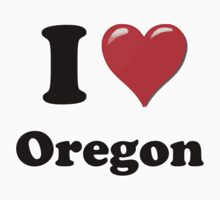 I Love Oregon by ColaBoy