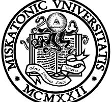 Miskatonic University by oobleckboy