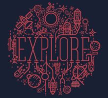 Explore Space T-Shirt