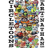 CircleToon Collage Photographic Print