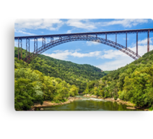West Virginia's New River Gorge Bridge Canvas Print