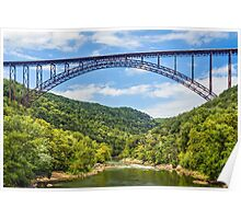 West Virginia's New River Gorge Bridge Poster