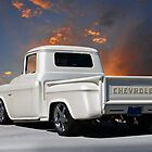 1956 Chevrolet Custom Pickup 2 by DaveKoontz