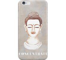Buddha - Concentrate iPhone Case/Skin