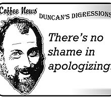 There's no shame in apologizing by vancoffeenews