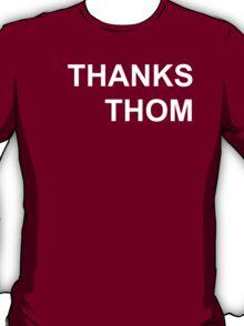 Radiohead- Thanks Thom (White) T-Shirt
