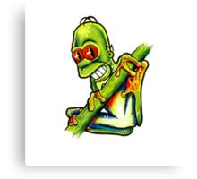Homey Tree Frog Canvas Print