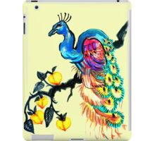 Peacock in a Peach Tree  iPad Case/Skin