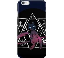dark ancient mew in a black bubble  iPhone Case/Skin
