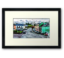 A Man And His Dog - Sneem, Ireland Framed Print
