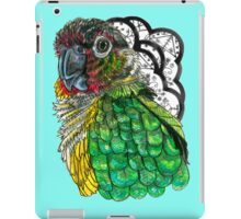 Green Cheeked Conure iPad Case/Skin