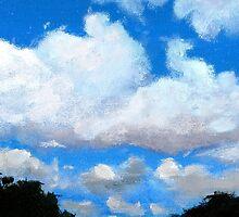 Blue Sky Clouds by GeorgiaT