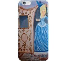 Marie Antoinette Stepping Out of Carriage  iPhone Case/Skin