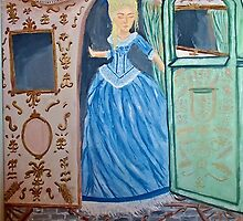 Marie Antoinette Stepping Out of Carriage  by kristenk