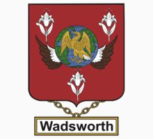 Wadsworth Coat of Arms (English) by coatsofarms