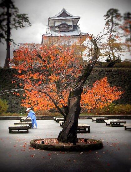 Kanazawa Castle, Japan by Richard Mason