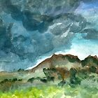 thunderstorm over knoll by Ashley Peppenger