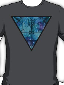 inverted space triangle T-Shirt