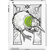 kiwi fruit the bird iPad Case/Skin