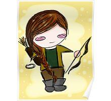 Katniss Everdeen Chibi Poster
