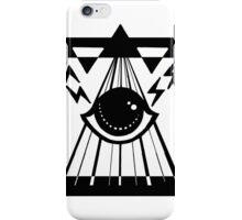 dark psychic attack iPhone Case/Skin