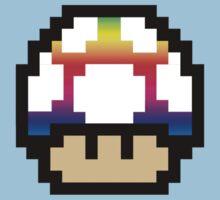 Rainbow Mushroom by AlyssaMage