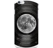 Moon In Space Vinyl LP Record iPhone Case/Skin