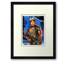 Clementine you changed man. Framed Print