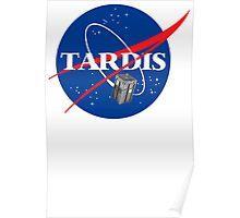 Tardis NASA T Shirt Parody Dr Dalek Who Doctor Space Time BBC Tenth Police Box Poster
