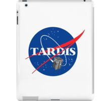 Tardis NASA T Shirt Parody Dr Dalek Who Doctor Space Time BBC Tenth Police Box iPad Case/Skin