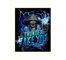 Thunder God Art Print