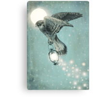 Nighthawk (portrait format) Canvas Print