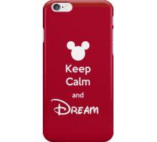 Keep Calm and Dream iPhone Case/Skin