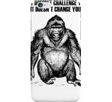 Ape sitting iPhone Case/Skin