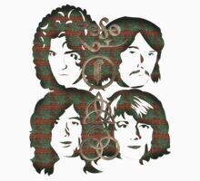 LED ZEP - BAND FACES/SYMBOLS-COPPER RUST by LadyEvil