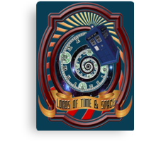 The Twelfth Doctor - Lords Of Time And Space Canvas Print