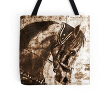 old book drawing famous people cal Tote Bag