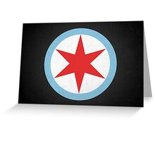 Captain Chicago Greeting Card