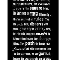 Misfits and rebels quote by Jari Vipele