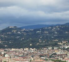 View of Florence by eborifax