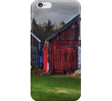 Sundown on Broadacres Farm iPhone Case/Skin