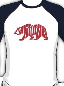 red california bear T-Shirt