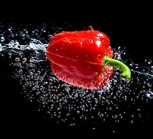 Red Pepper Splash by Andrew Bret Wallis