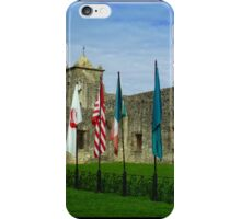 Flags at Spanish Fort iPhone Case/Skin
